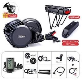8fun Bafang Mid Drive Conversion Kit