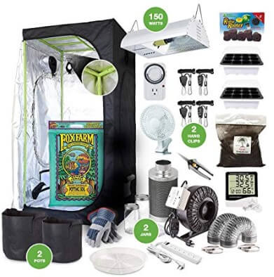 The Bud Grower Complete Indoor Grow Kit