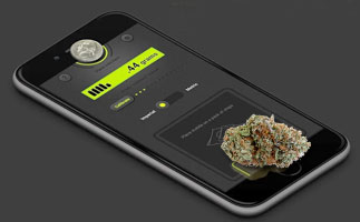 smartphone weed scale