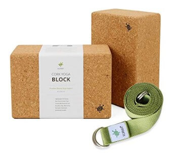 Kurma Yoga Blocks And Belt
