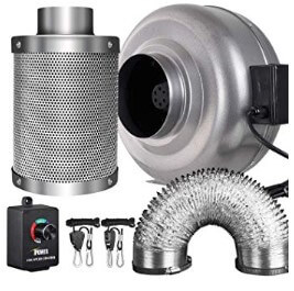 iPower 6 Inch 442 CFM Inline Fan