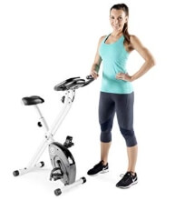 Marcy Foldable Upright Exercise Bike